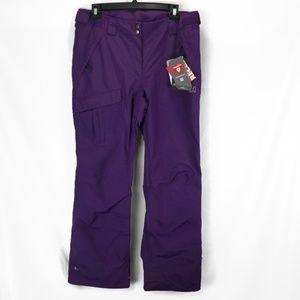 Helly Hansen Womens Snow Pants XL Purple